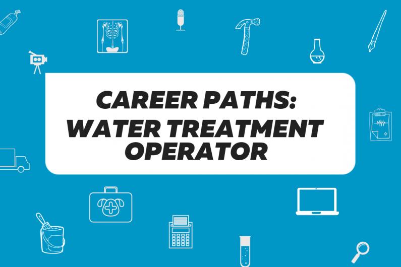 Career path water treatment operator heading